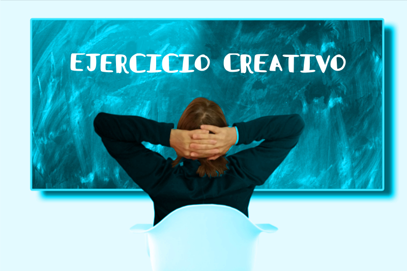 Ejercicio creativo, Anes Ortigosa, cuaderno creativo.
